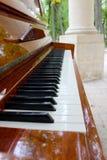 Fortepianowi klucze Fotografia Royalty Free
