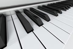 fortepianowi uroczyści klucze ilustracja wektor