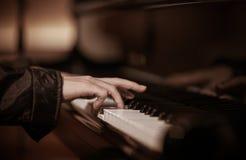 fortepianowy bawić się Obrazy Royalty Free