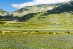 Fortepianowy Grande Di Castelluccio (Włochy) Fotografia Stock