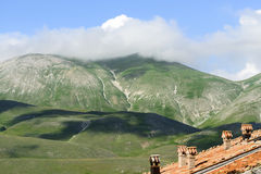 Fortepianowy Grande Di Castelluccio (Włochy) Zdjęcia Royalty Free