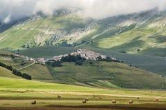 Fortepianowy Grande Di Castelluccio Włochy Fotografia Royalty Free