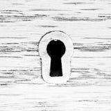 Fortepianowy pokrywkowy keyhole Fotografia Stock