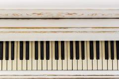 Fortepianowy zakończenie, instrument muzyczny uczy się bawić się instrument Obraz Royalty Free