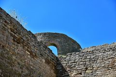 Forteresse à la forteresse d'Akkerman Photographie stock