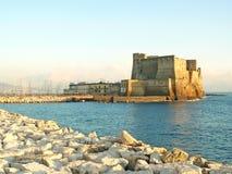 Forteresse à Naples images libres de droits