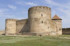 Forteresse antique d'Akkerman chez Belgorod-Dnestrovsky, près d'Odessa, l'Ukraine Vieille forteresse de citadelle Les sud de la p Images stock