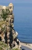 Forteresse antique dans Rethymno Photos libres de droits