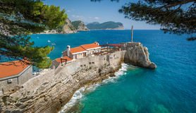 Forteresse antique de Petrovac Images stock
