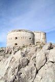 Forteresse Arza Montenegro Photos libres de droits