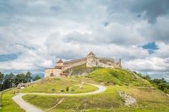 Forteresse au coeur de la Transylvanie Photo libre de droits
