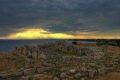 Forteresse 2, Bulgarie de Kaliakra Photo libre de droits