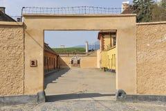 Forteresse commémorative de Terezin petite Photographie stock libre de droits