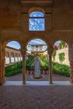 Forteresse d'Alhambra Images libres de droits