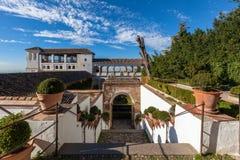 Forteresse d'Alhambra Photographie stock