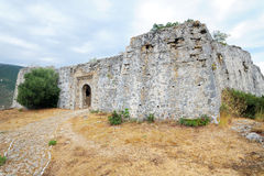 Forteresse d'Ali Pasha, Parga Image stock