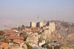 Forteresse d'Ankara Photographie stock