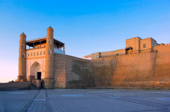 Forteresse d'arche. Boukhara. images stock