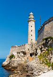 Forteresse d'EL Morro à La Havane, Cuba Image stock