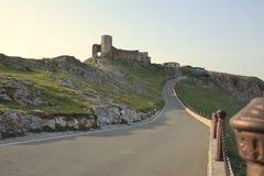 Forteresse d'Enisala, Roumanie Image libre de droits