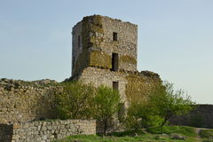 Forteresse d'Enisala, Roumanie Photo stock