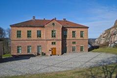 Forteresse dans Halden (la zone d'éducation) Photo libre de droits