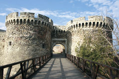 Forteresse de Belgrade Images stock