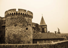 Forteresse de Belgrade photos libres de droits