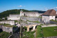 Forteresse de Besançon Image libre de droits