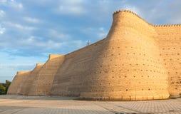Forteresse de Boukhara (arche), l'Ouzbékistan Photos stock