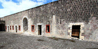 Forteresse de côte de soufre - citadelle Photo libre de droits