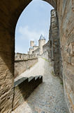 Forteresse de Carcassonne Photo libre de droits