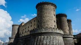 Forteresse de Castel-Nuovo ? Naples, Italie photo stock