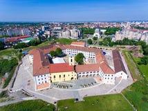Forteresse de centre d'Oradea Photos libres de droits