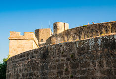 Forteresse de château de Bellver dans Palma de Majorque Image stock