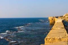 Forteresse de croisé (acre, Israël) Image stock