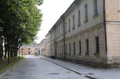 Forteresse de Daugavpils (Lettonie) Photo stock