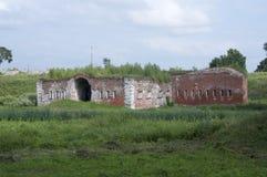 Forteresse de Daugavpils (Lettonie) Photo libre de droits
