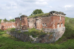 Forteresse de Daugavpils (Lettonie) Photos stock