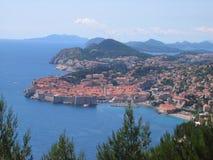 Forteresse de Dubrovnik Images stock