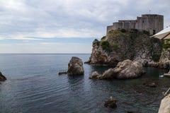 Forteresse de Dubrovnik Photo stock