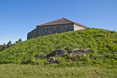 Forteresse de Fredriksten (grande tour) Photos stock