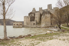 Forteresse de Golubac. Photo stock