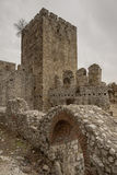 Forteresse de Golubac. Photos stock