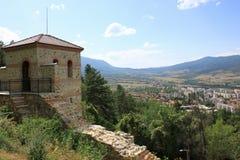 Forteresse de Hisarlaka en Bulgarie Photographie stock