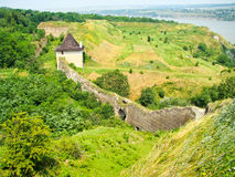 Forteresse de Hotyn Photos stock