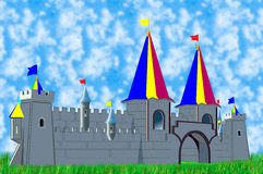 Forteresse de jeu Photo stock
