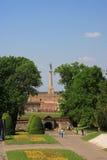 Forteresse de Kalemegdan à Belgrade image stock