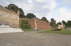 Forteresse de Kalemegdan, Belgrade, Serbie image libre de droits