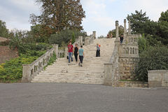 Forteresse de Kalemegdan, Belgrade, Serbie photo stock